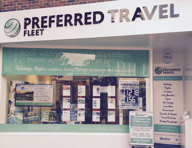 Welcome to Preferred Travel...